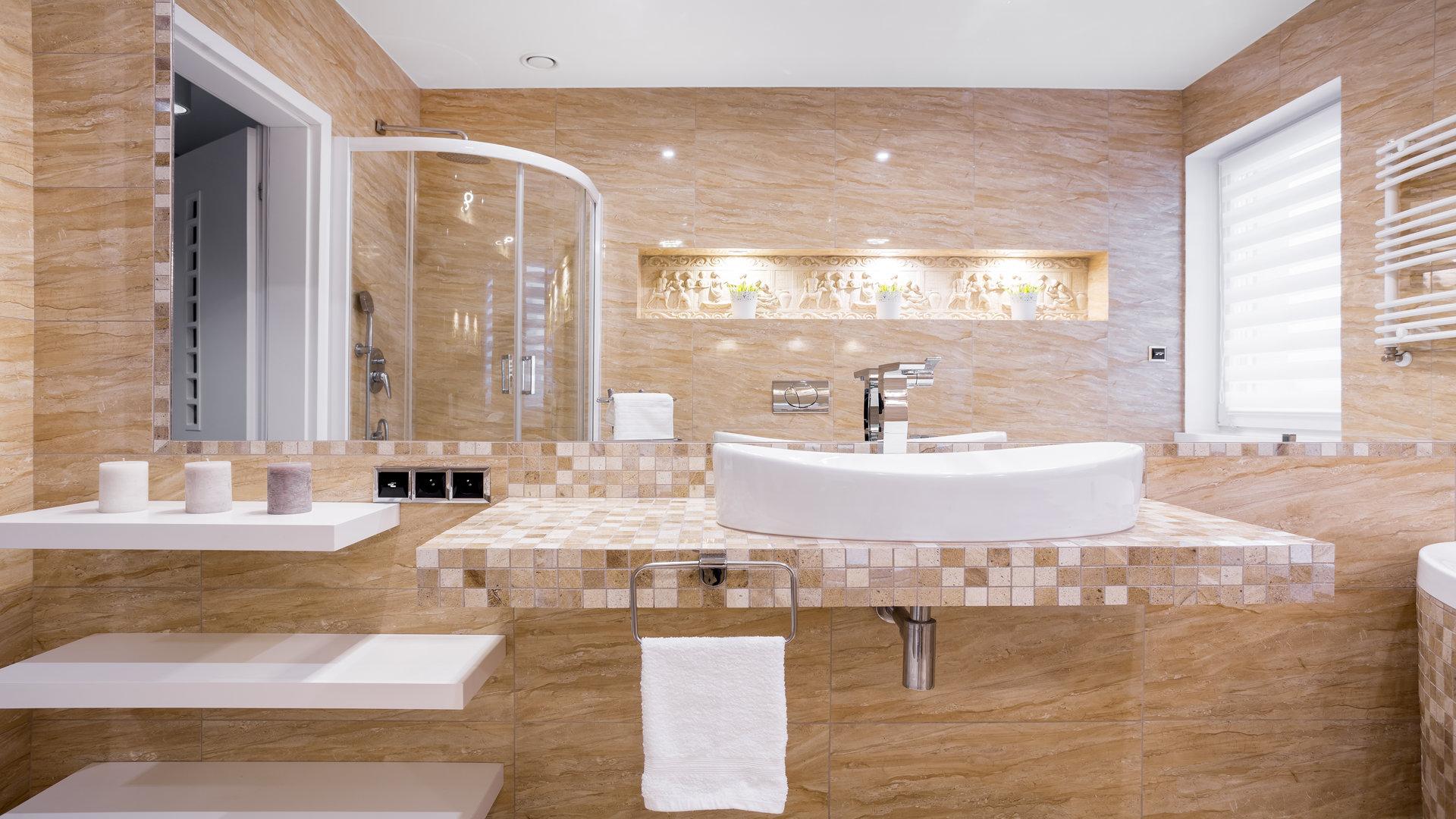 total look carrelage dans votre salle de bains