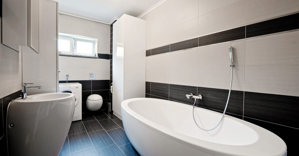 Comment am nager une salle de bain en longueur - Comment repeindre une salle de bain ...