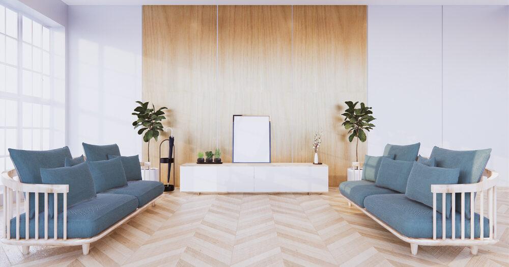 Optez pour un carrelage imitation bois blanc pour un intérieur plus chic!