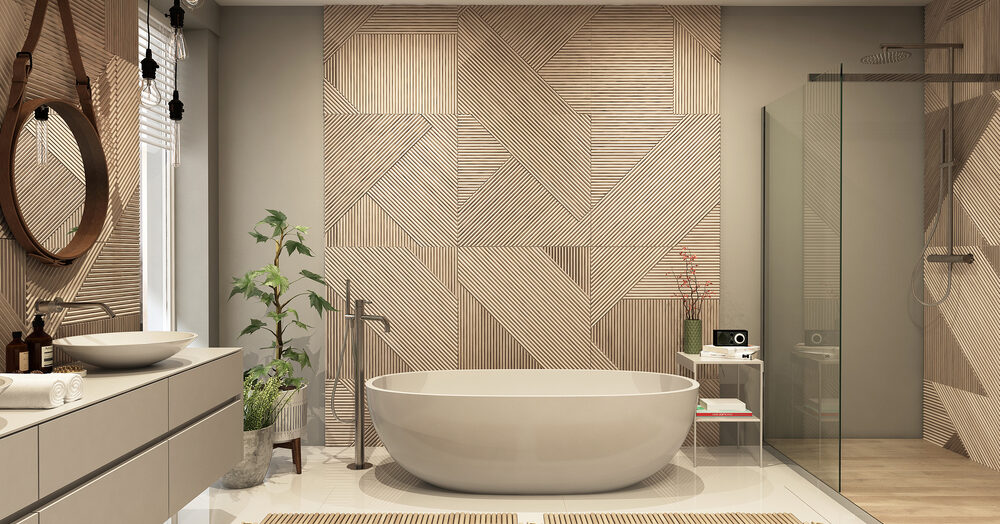Un carrelage mix & match dans une salle de bain est-il une bonne idée